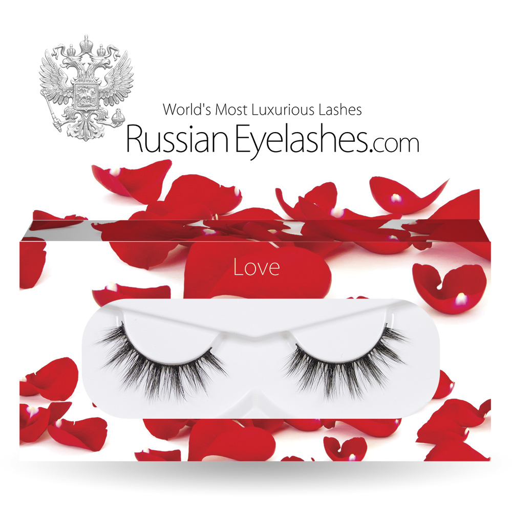 Russian Eyelashes Love